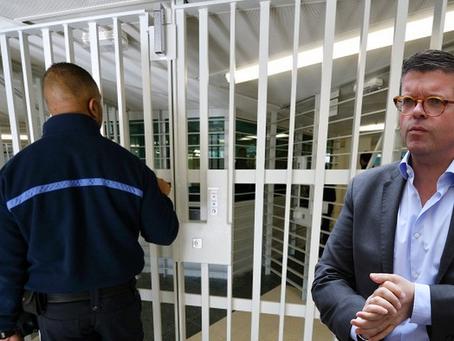 Prison de Fleury-Mérogis : Visite du député Luc Carvounas