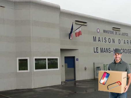 Prison Le Mans les Croisettes : Colis spécial !