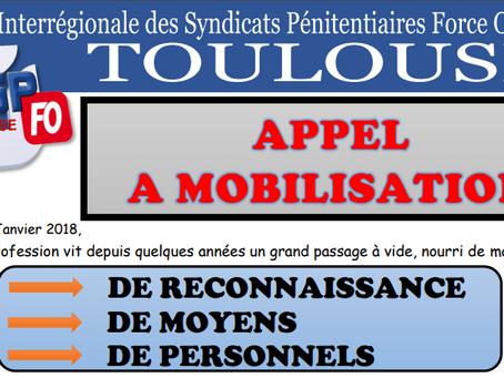 L'UISP-FO Toulouse Appel à la MOBILISATION