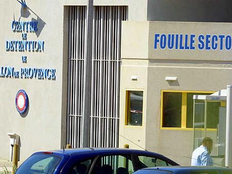 Prison de Salon-de-Provence : Fouille Sectorielle