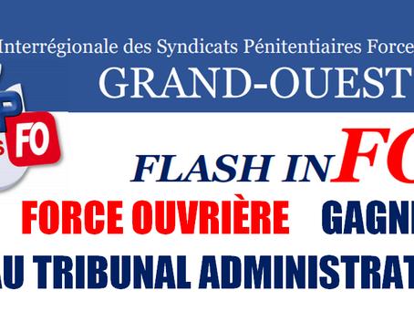UISP-FO Rennes : Force Ouvrière gagne au Tribunal Administratif