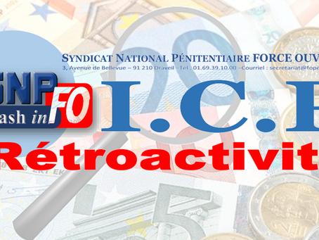Flash-inFO : ICP Rétroactivité