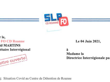 Prison de Roanne : Lettre ouverte à Madame la Directrice Interrégionale par Intérim