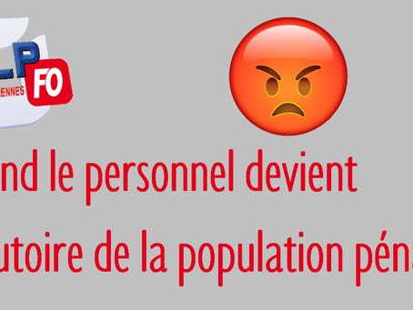 Prison des femmes de Rennes : Quand le personnel devient l'exutoire de la population pénale !