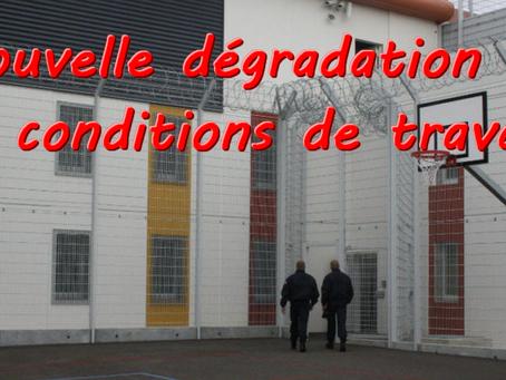 Prison de Réau : Nouvelle dégradation de nos conditions de travail sans aucun fondement !