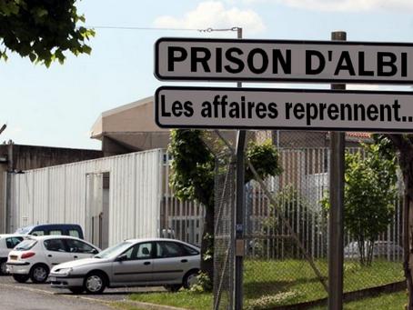 Prison d'Albi : Les affaires reprennent...