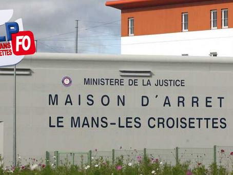 Prison du Mans : La journée des enfants... 3 Mises en prévention