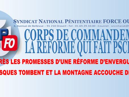 CORPS DE COMMANDEMENT, LA RÉFORME QUI FAIT PSCHITT...