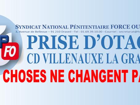 Prise d'otage au CD de Villenauxe-la-Grande : Les choses de changent pas !