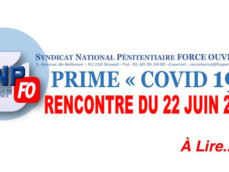 PRIME COVID-19 : Rencontre du 22 juin 2020