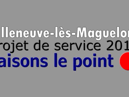 Prison de Villeneuve-lès-Maguelone : Projet de service 2019... Faisons le point