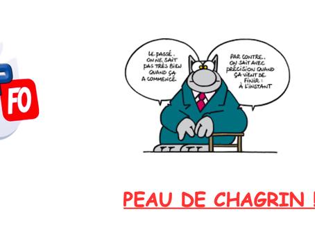 Prison de Nancy-Maxeville : Peau de Chagrin !