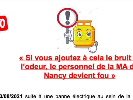 """Prison de Nancy : """"Si vous ajoutez à cela le bruit et l'odeur, le personnel de la MA devient fou"""""""