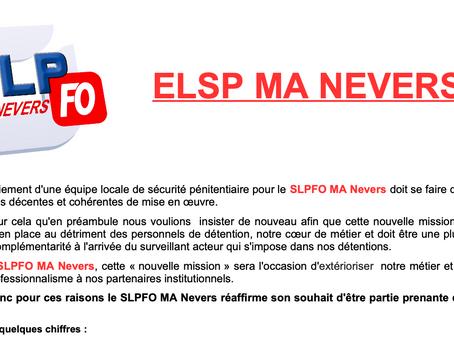 Prison de Nevers : ELSP MA NEVERS