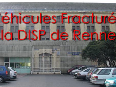 Prison des Femmes de Rennes : Véhicules Fracturés sur la DISP de Rennes !!