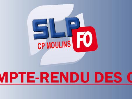 Prison de Moulins : Compte-rendu des CTS
