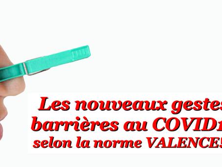 Prison de Valence : Les nouveaux gestes barrières au COVID19 selon la norme Valence !
