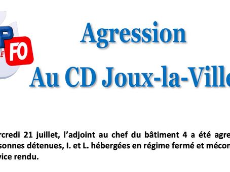 Prison de Joux-la-Ville : Agression au Centre de Détention