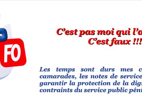 """Prison de Puy-en-Velay : C'est pas moi qui l'ai """"DI"""", c'est faux !"""