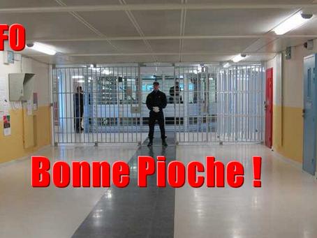 Bonne Pioche au centre pénitentiaire de Saint-Quentin-Fallavier !