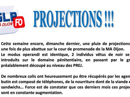 Prison de Dijon : PROJECTIONS !