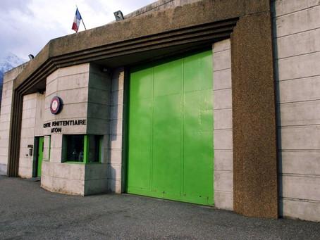 Prison d'Aiton : La reconnaissance de notre direction