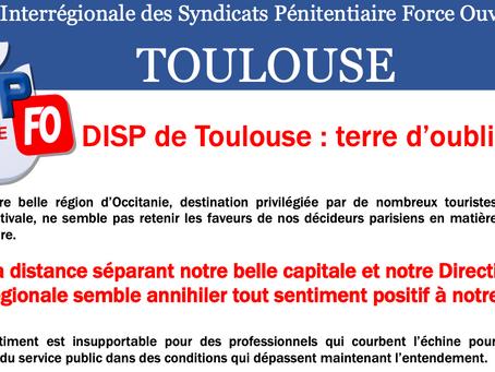 DISP de Toulouse : Terre d'oublié(e)s...