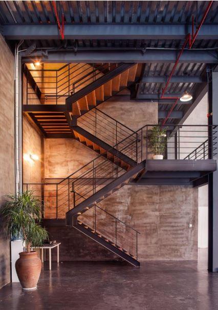 Studio A Stairway