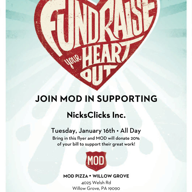 Fundraise Your Heart Out