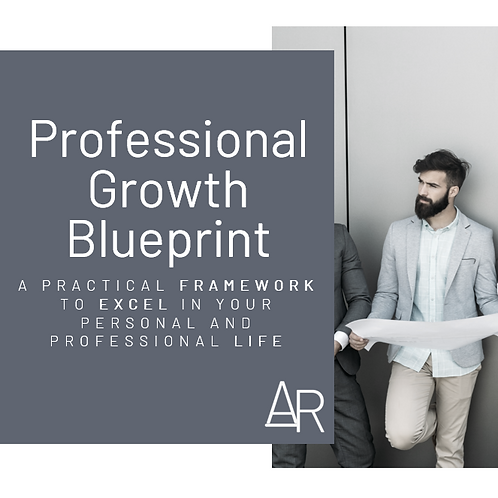 Professional Growth Blueprint