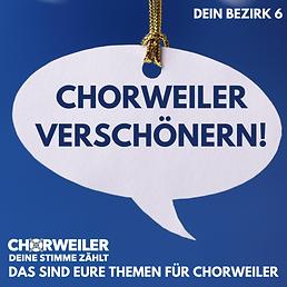 Chorweiler verschönern!