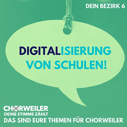 Digitalisierung von Schulen!