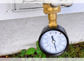 High Water Pressure: Reducing Your Risk