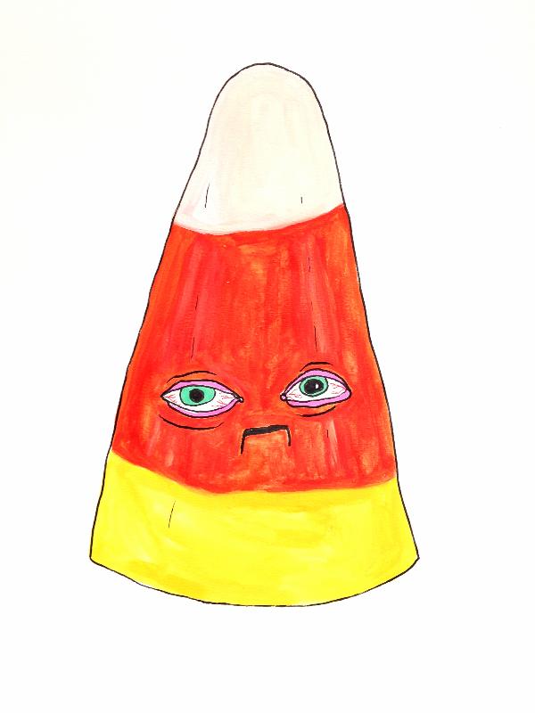 Sad Candy Corn