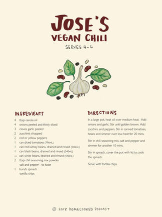 Jose's Vegan Chili