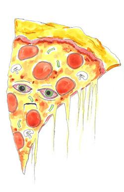 Sad Pizza