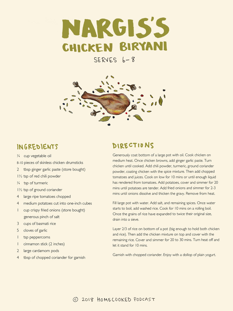 Nargis's Chicken Biryani