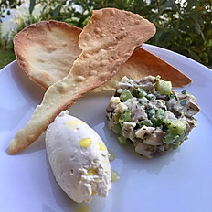 MACKEREL & CUCUMBER TARTAR