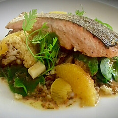 PAN FRIED IRISH BROWN TROUT