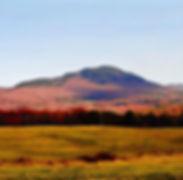 Elmore Mountain in autumn
