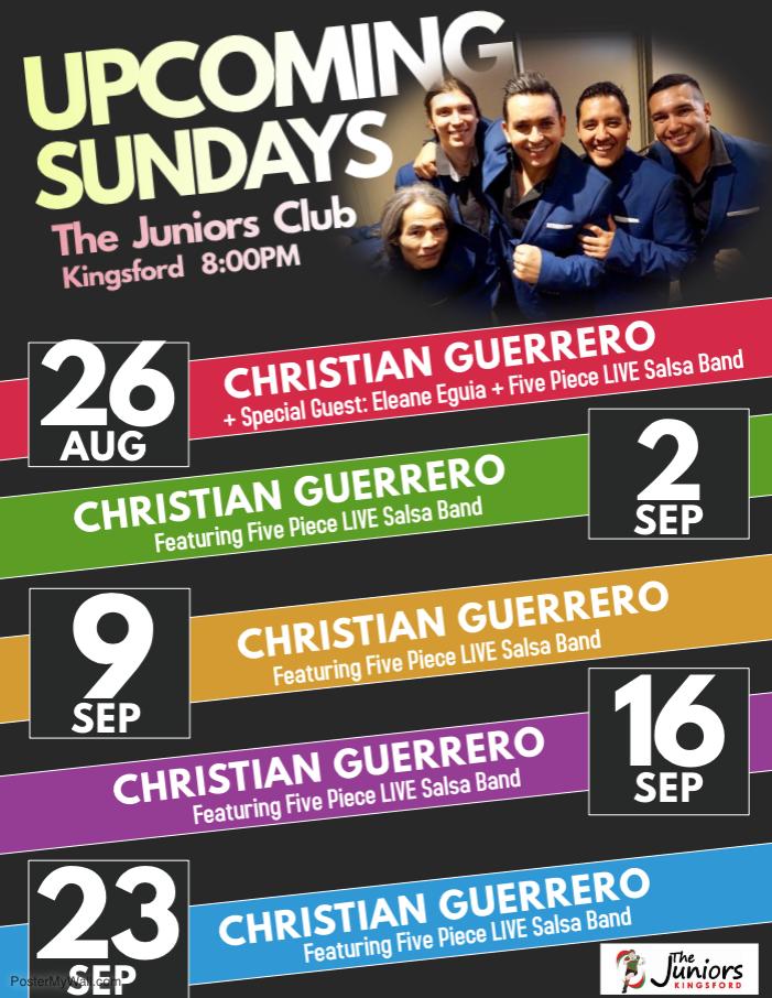 Christian Guerrero Salsa Kingz at The Ju