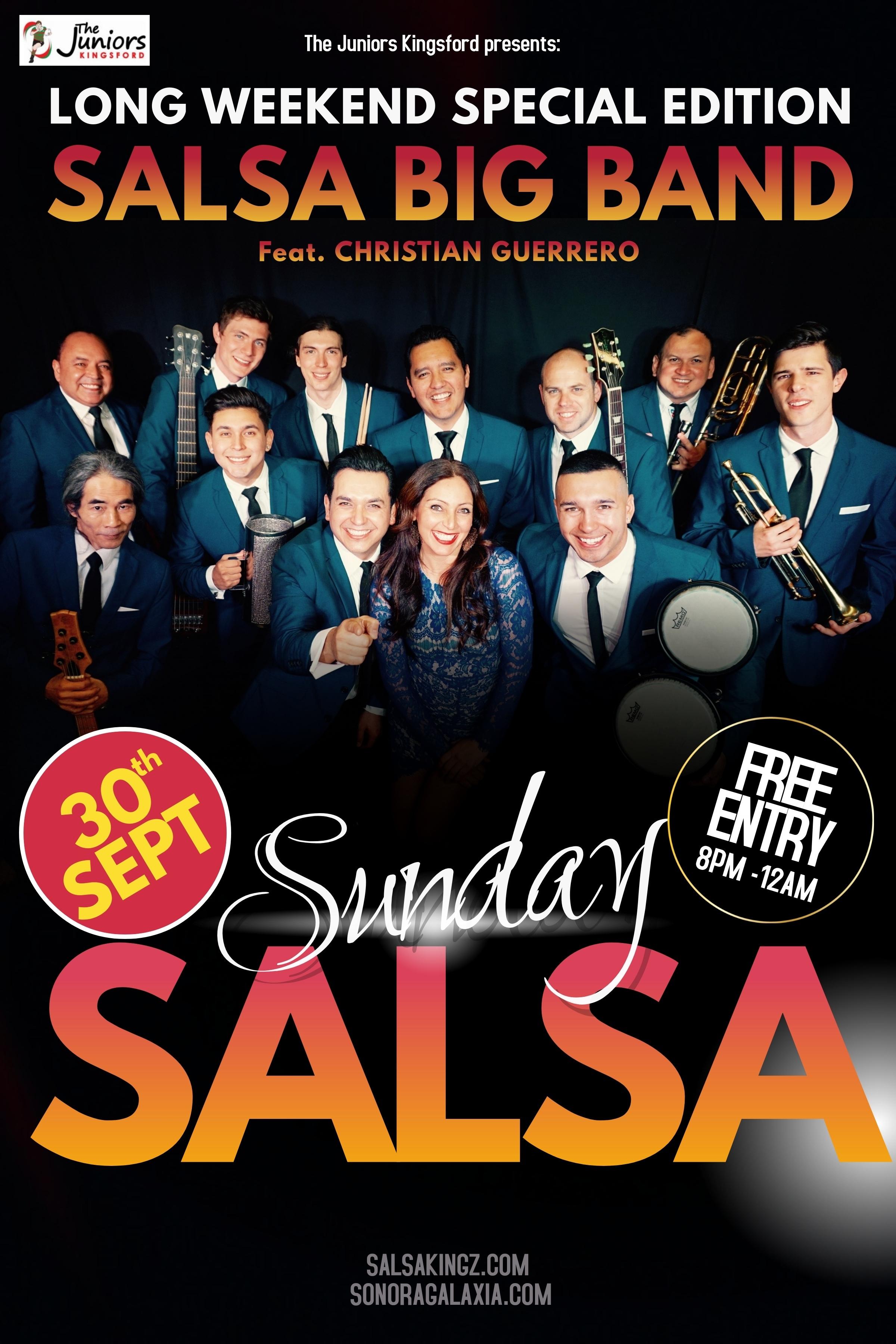 Sunday Salsa Long Weekend 300918