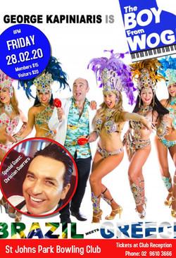 Brazil meets Greece promo 270220