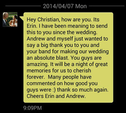 Salsa Kingz Testimonial - Thank you from Erin And Andrew.jpg