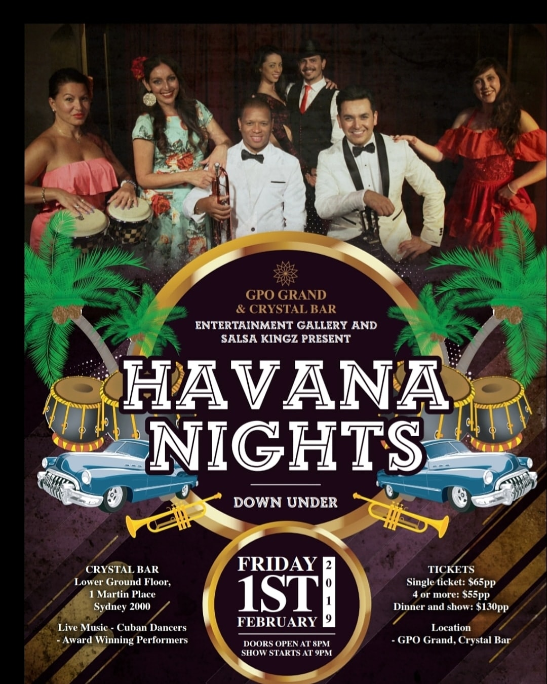 Havana Nights Down Under Salsa Kingz