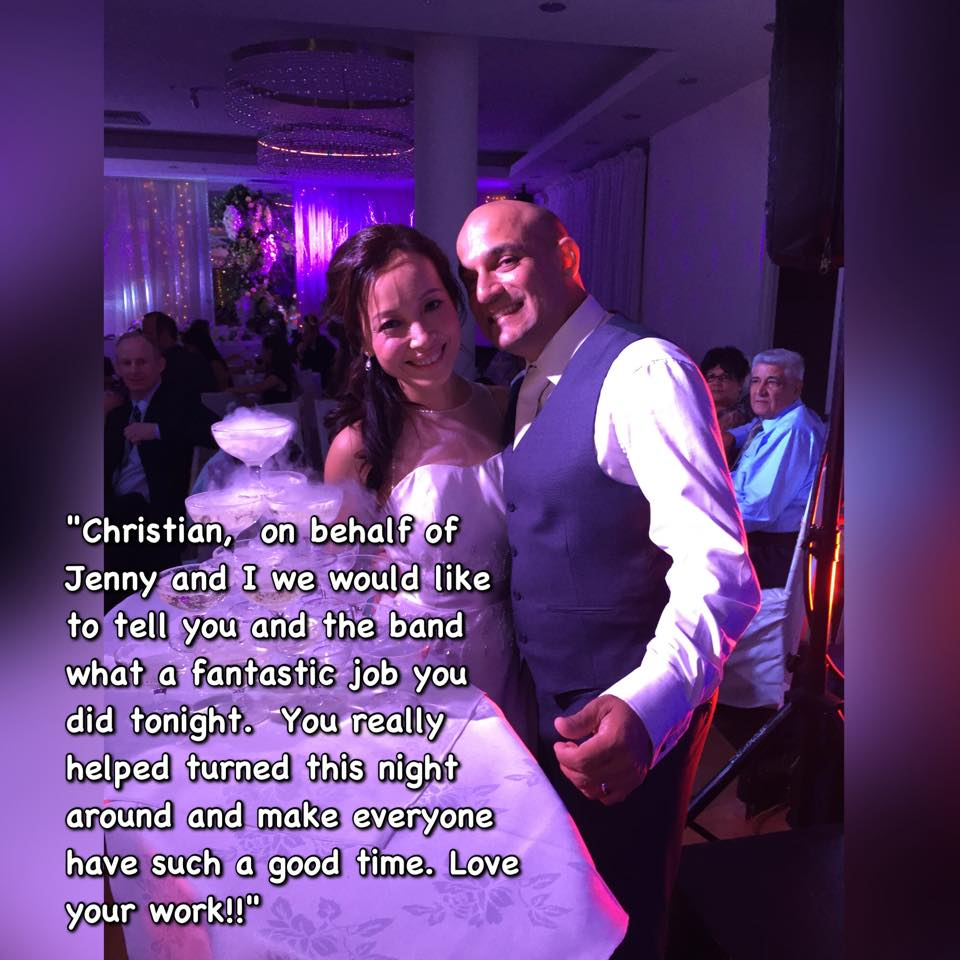 14th March 2015 Wedding Testimonial