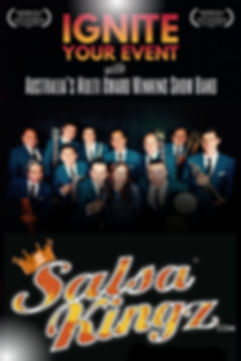 Salsa Kingz FRONT A4 Ignite Your Event P
