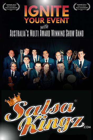 Salsa Kingz official promotional poster 201