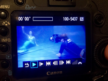 FreeDiveUK Mermaid Training and More Filming