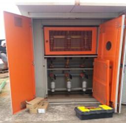 Instalação de cabines primárias e sinalização de combate de incêndio no CD das Casas Bahia em Jundiaí– SP